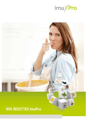Vos recettes ImuPro