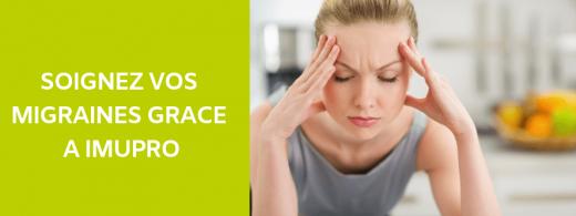 Soignez vos migraines grâces à ImuPro