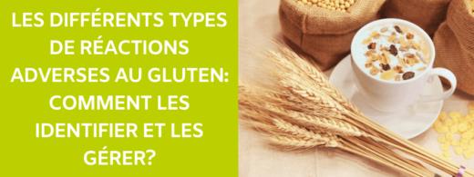 reactions adverses au gluten